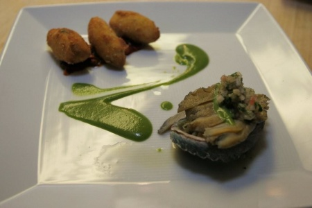 Big Island Abalone showcased in Chef Mavro recipe